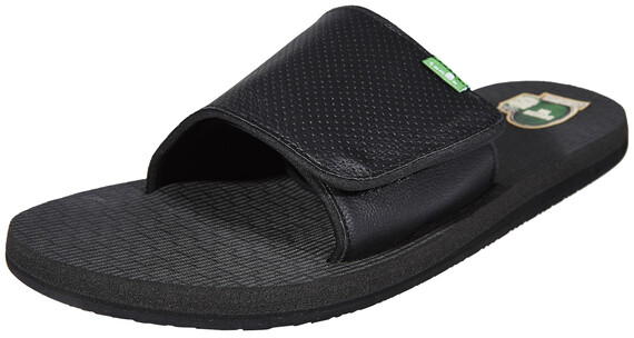 Sanük Beer Cozy Light Slide Shoes Men Blackout